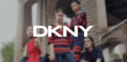DKNY's Email Remarketing Creative
