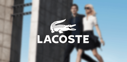 Lacost's Email Remarketing Creative