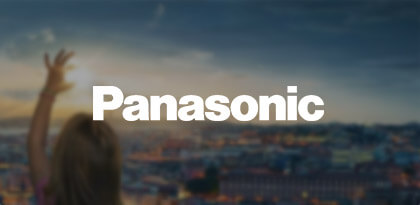 Panasonic's On-Site Remarketing Creative