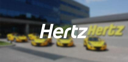 Hertz's Email Remarketing Creative