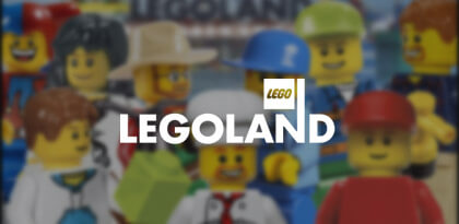 Lego Land's Email Remarketing Creative