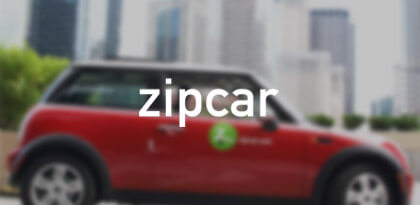 Zip Car's Email Remarketing Creative