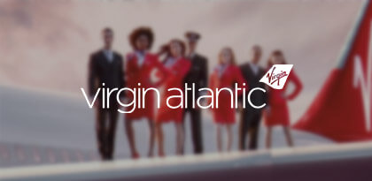 Virgin Atlantic's On-Site Remarketing Creative