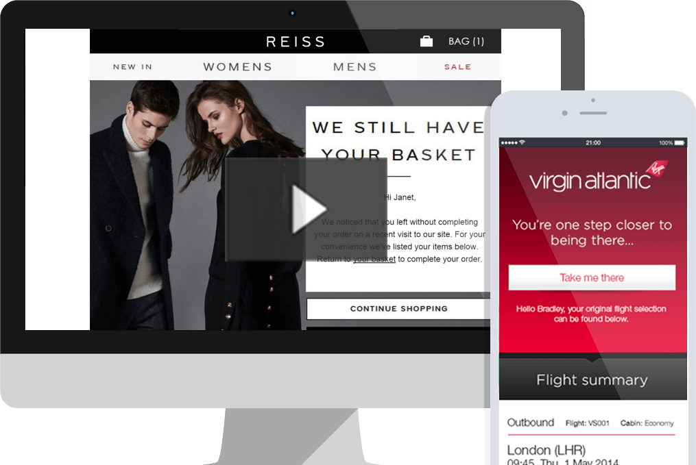 Desktop and Mobile On-Site Remarketing