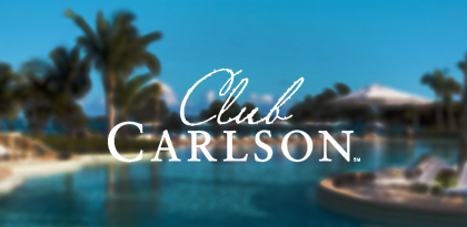 Club Carlson's Email Remarketing Creative