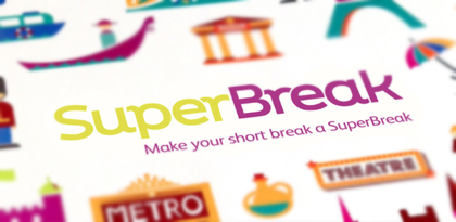 SuperBreak's On-Site Remarketing Creative