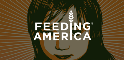 Feeding America's On-Site Remarketing Creative