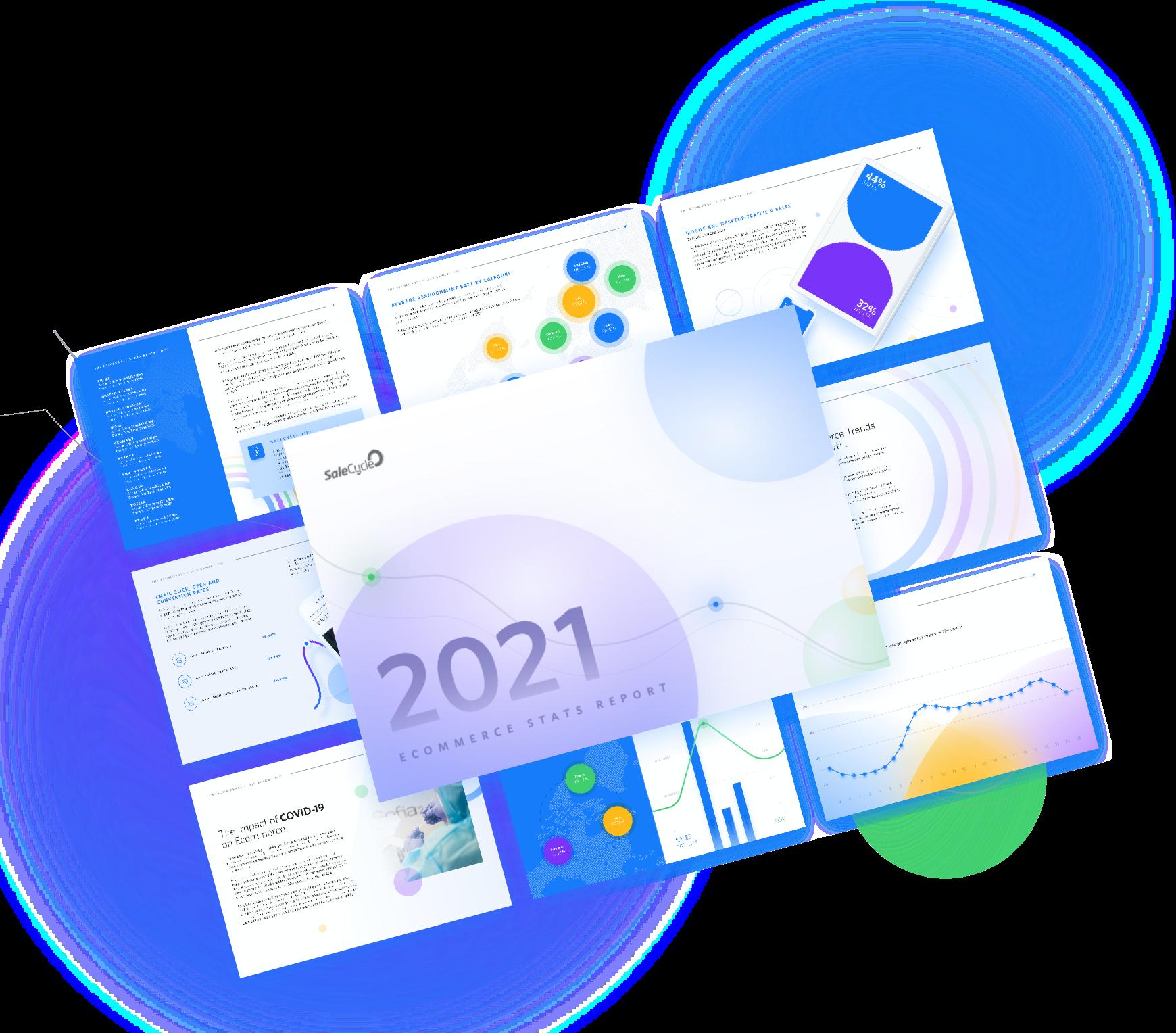 Modelo del Informe de estadísticas y tendencias del comercio electrónico 2021