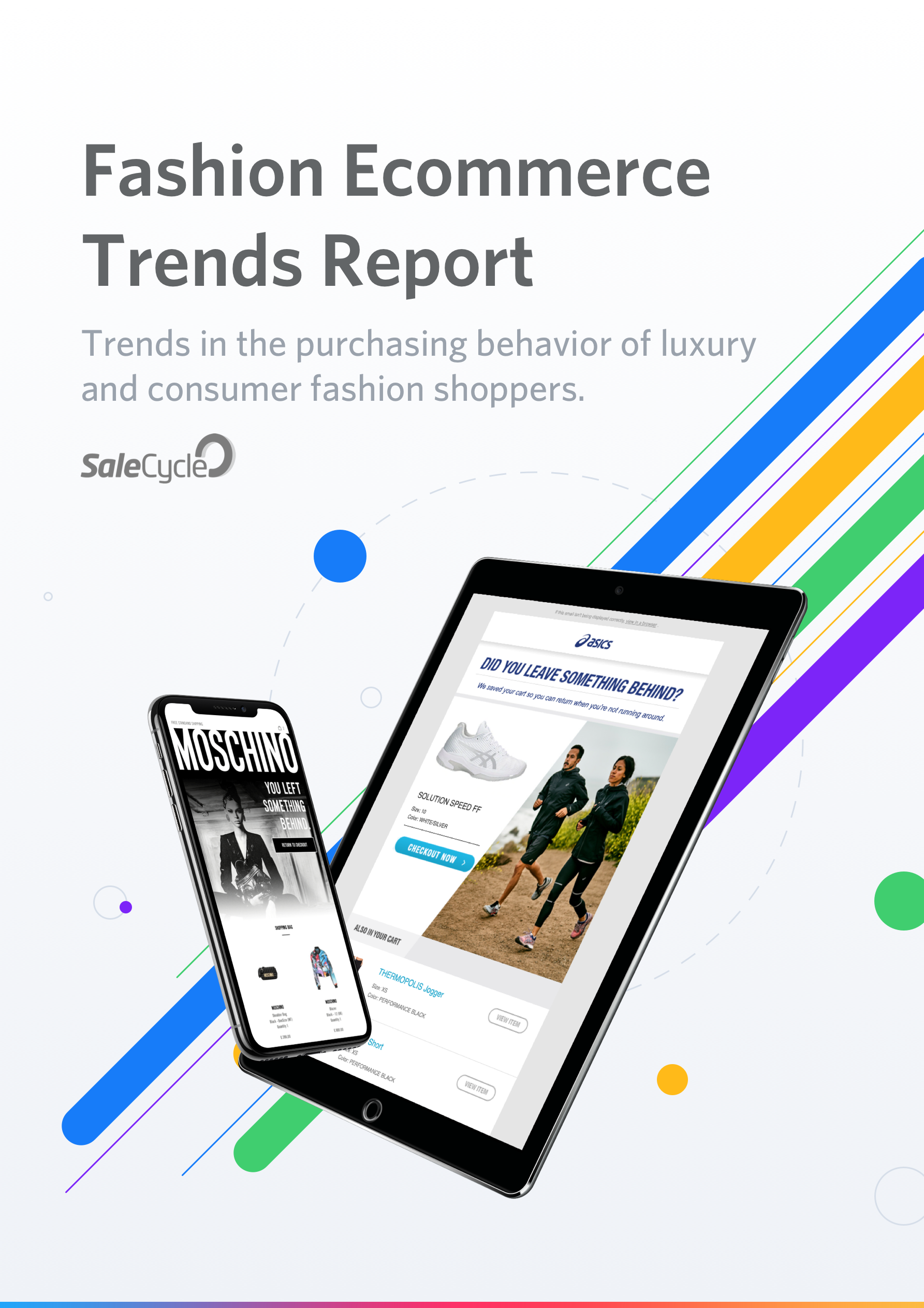 Cover of Fashion eCommerce Trends Report eBook