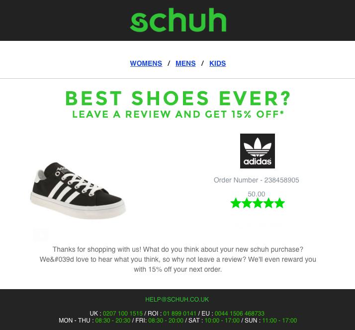 schuh reviews