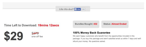 ecommerce countdown timer test with urgency