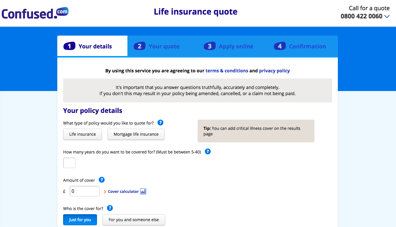 Life Insurance Quote Calculator Inspiration Confused Life Insurance Quote  Salecycle Blog