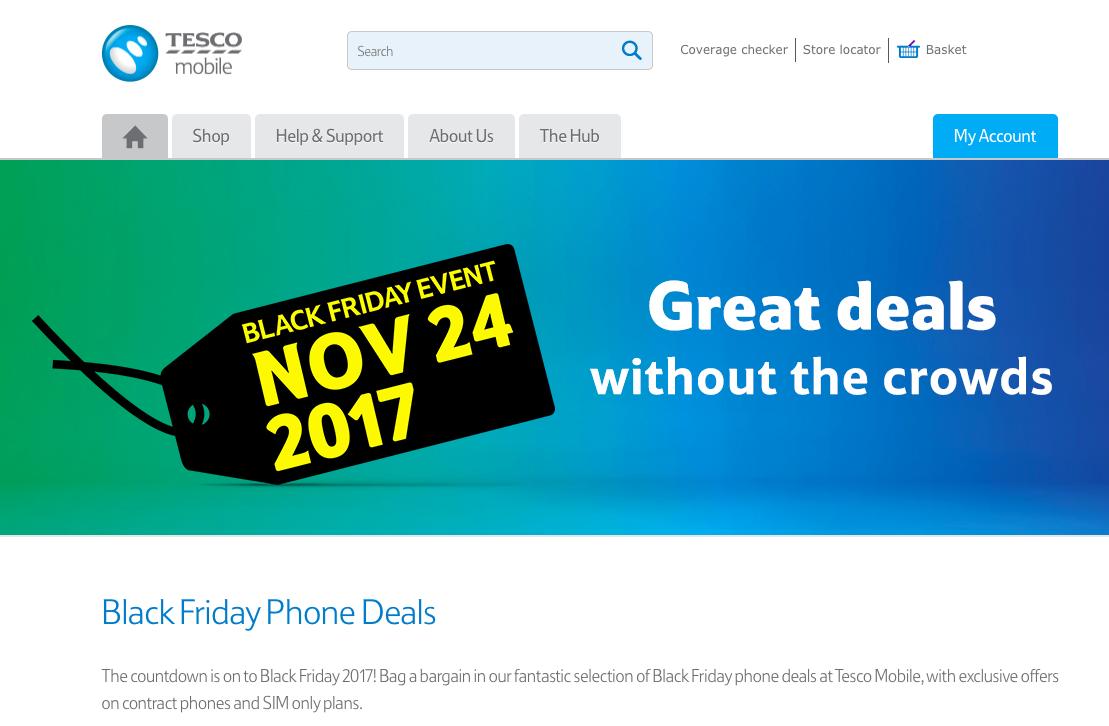 tesco mobile black friday | SaleCycle Blog