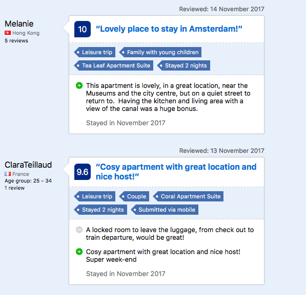 Reviews About Booking.Com Booking Accommodations