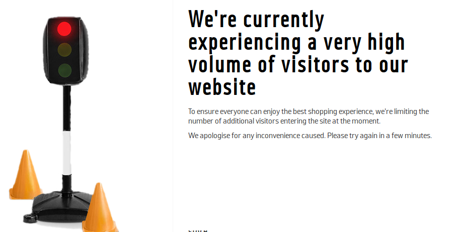 Black Friday website crash