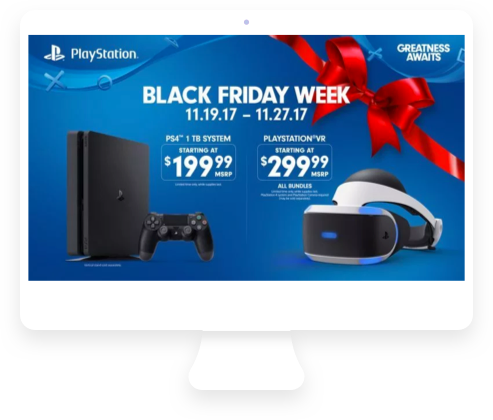 Black Friday ecommerce promos