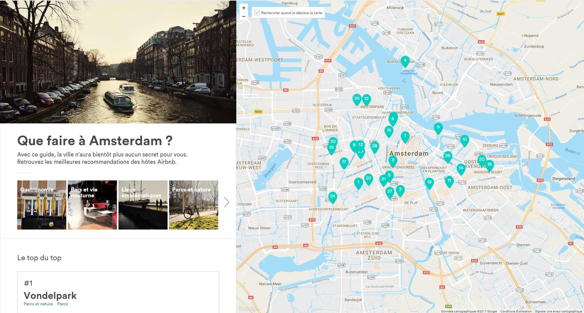 Guide touristique airbnb