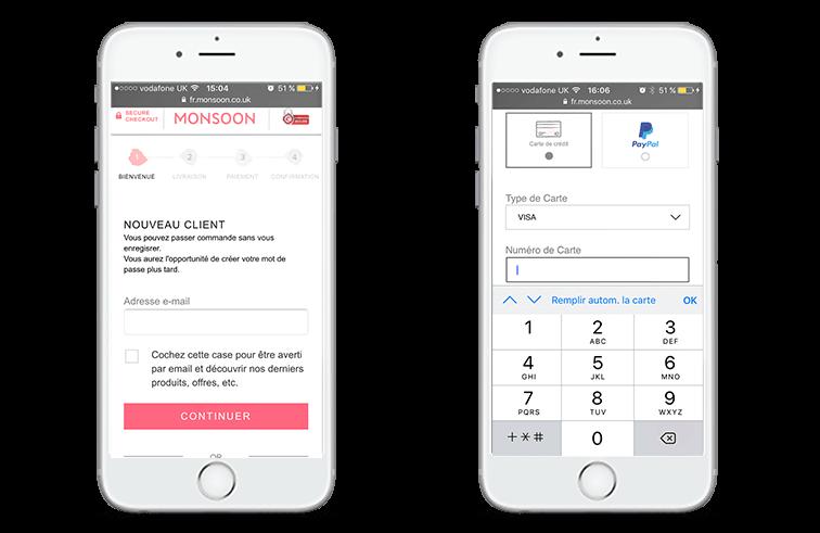 Optimisation processus paiement mobile