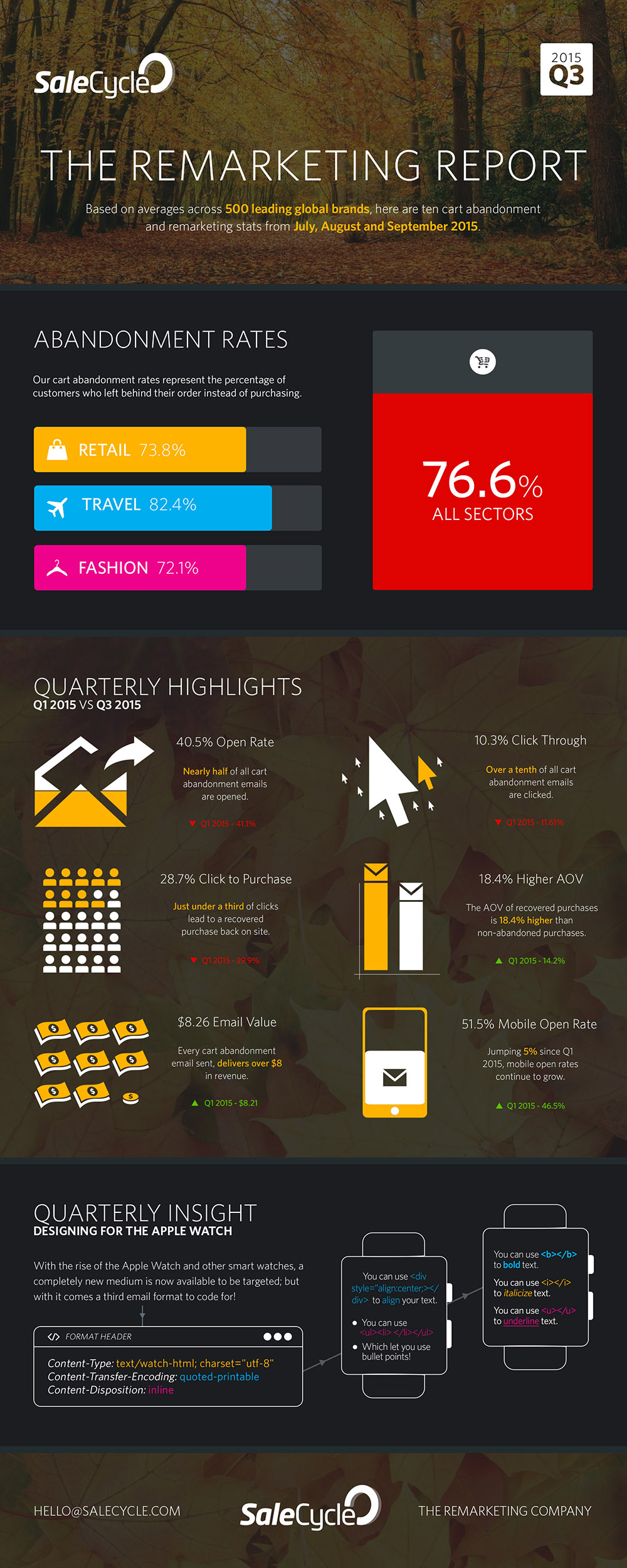 The Remarketing Report - Q3 2015