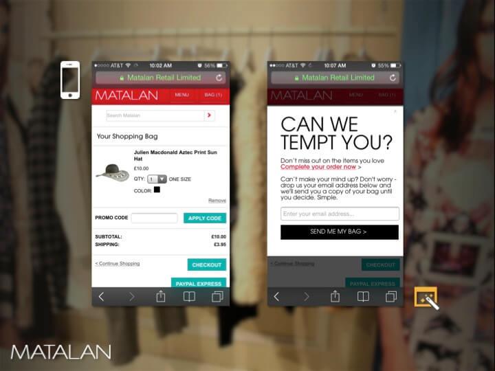 Matalan Mobile Site