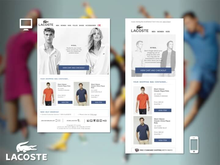 Lacoste Emails