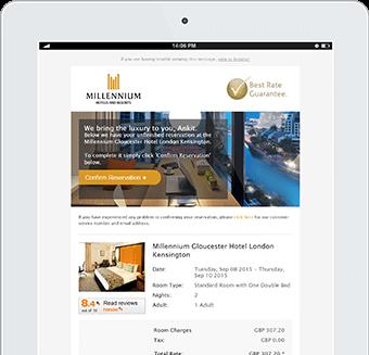 Millenium Hotels User Generated Content