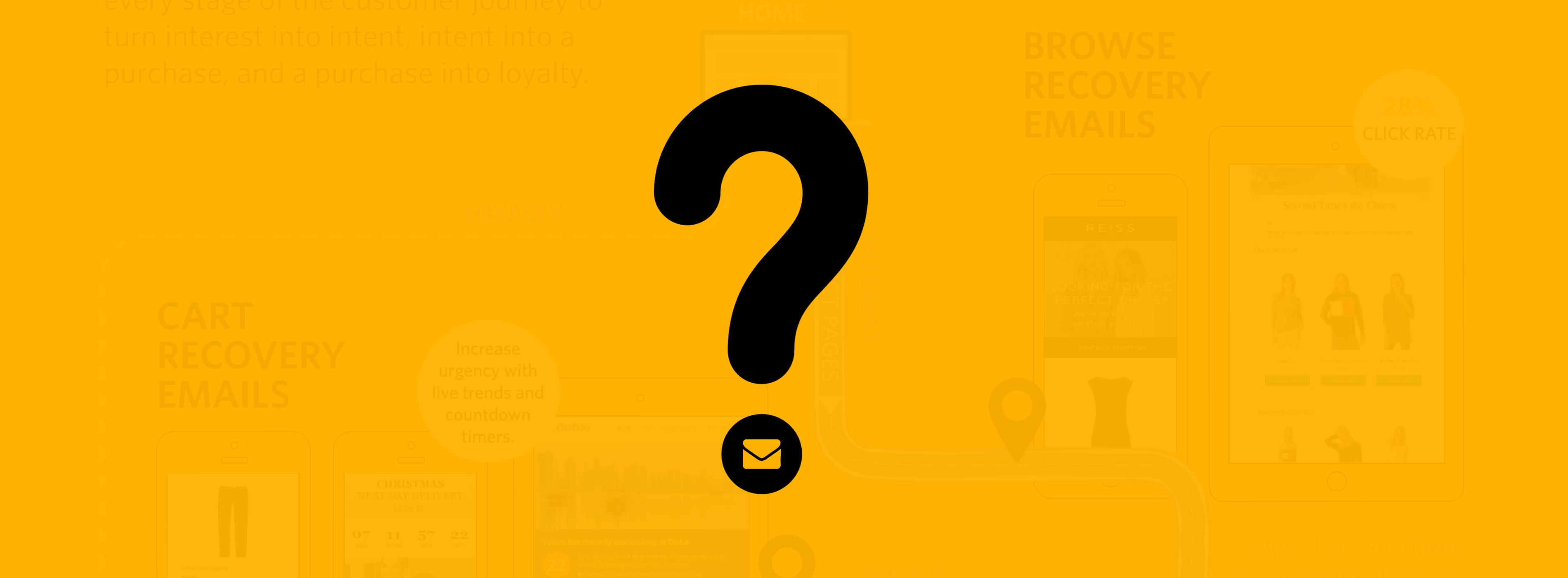 Utilisez-vous l'email à toutes les étapes du tunnel d'achat ?
